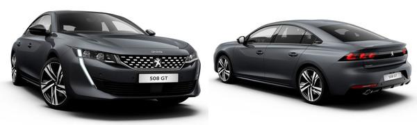Modelo Peugeot Nuevo 508 GT