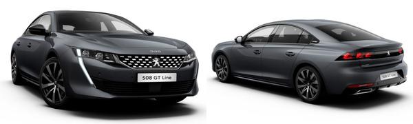 Modelo Peugeot Nuevo 508 GT Line