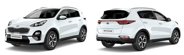 Model Kia Nuevo Sportage Emotion
