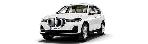 Modelo BMW X7 M50d