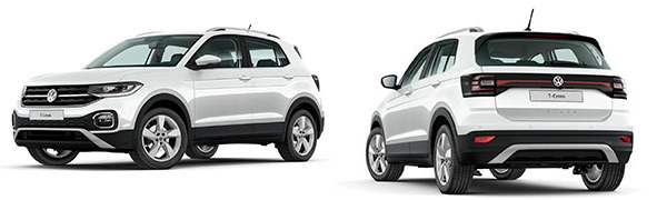 Modelo Volkswagen T-Cross Edition