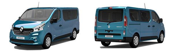 Modelo Renault Trafic Monovolumen 4p LIMITED