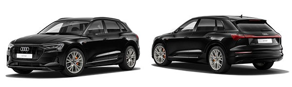 Modelo Audi e-tron Black line edition
