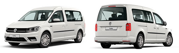 Modelo Volkswagen Comerciales Caddy Maxi Trendline