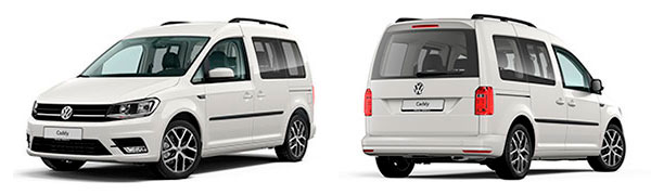 Modelo Volkswagen Comerciales Caddy Outdoor