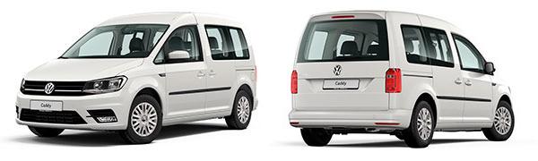 Modelo Volkswagen Comerciales Caddy Trendline
