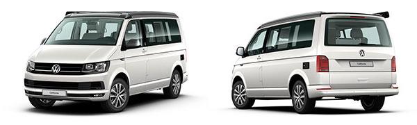 Modelo Volkswagen Comerciales California 30 Aniversario