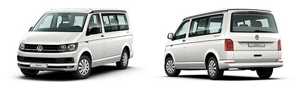 Modelo Volkswagen Comerciales California 6.1 Beach Tour