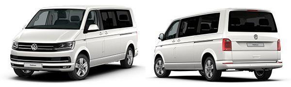 Modelo Volkswagen Comerciales Multivan Premium Batalla Larga