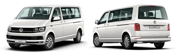Model Volkswagen Comerciales Caravelle Premium Batalla Larga