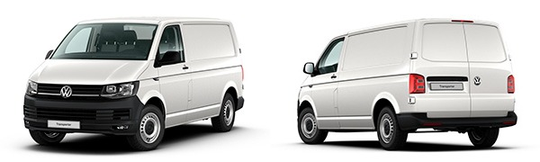 Modelo Volkswagen Comerciales Transporter Furgón Batalla Corta