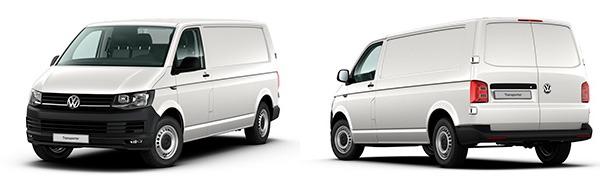 Modelo Volkswagen Comerciales Transporter Furgón Batalla Larga