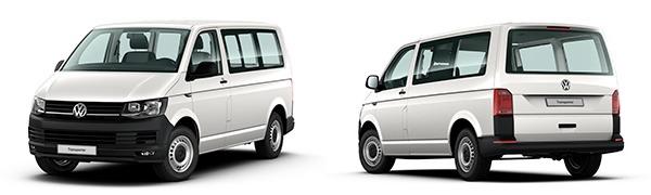 Modelo Volkswagen Comerciales Transporter Kombi Batalla Corta