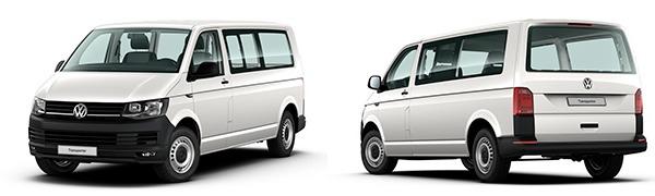 Modelo Volkswagen Comerciales Transporter Kombi Batalla Larga
