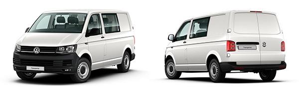 Modelo Volkswagen Comerciales Transporter Mixto Plus Batalla Corta