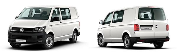 Modelo Volkswagen Comerciales Transporter Mixto Batalla Corta