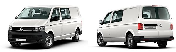 Modelo Volkswagen Comerciales Transporter Mixto Batalla Larga