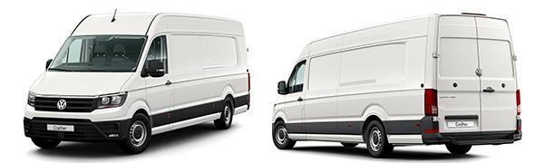 Modelo Volkswagen Comerciales Crafter Batalla Larga con Voladizo