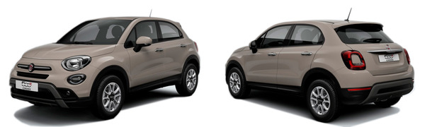 Modelo Fiat 500X City Cross