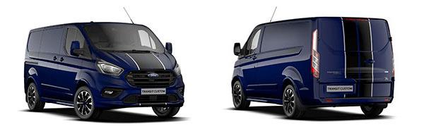 Modelo Ford Custom Van Sport