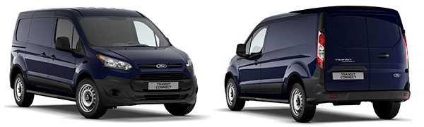 Modelo Ford Connect Van Ambiente