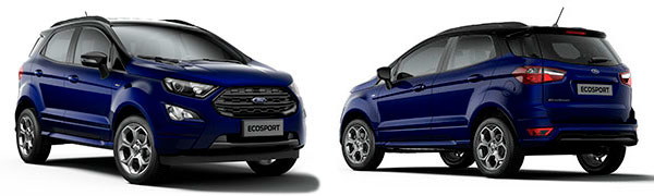 Modelo Ford EcoSport ST Line