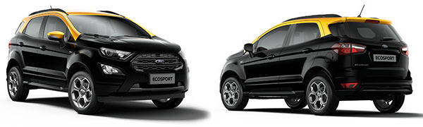 Modelo Ford EcoSport ST Line Black Edition