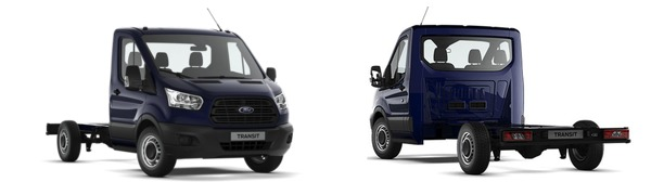 Modelo Ford Transit Chasis Cabina 2Ton Tracción Delantera Ambiente
