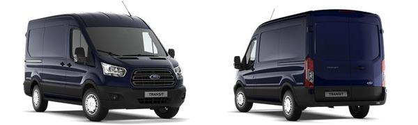 Modelo Ford Transit Van 2Ton Tracción Delantera Trend