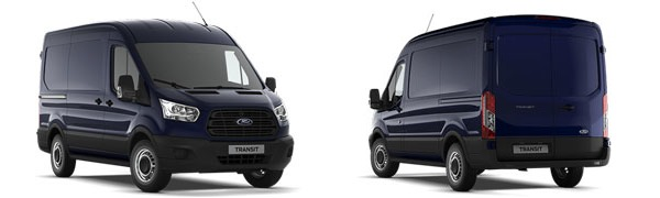 Modelo Ford Transit Van 2Ton Tracción Total (4x4)