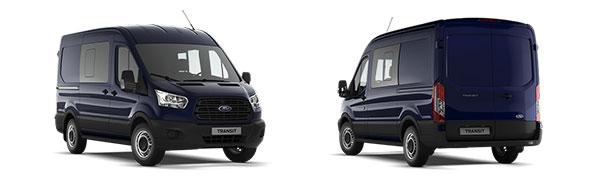 Modelo Ford Transit Van 2Ton Doble Cabina Tracción Delantera Trend