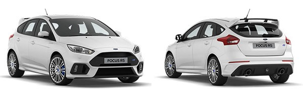 Modelo Ford Focus Berlina RS