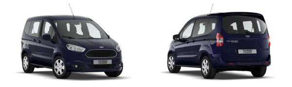 Modelo Ford Tourneo Courier Trend