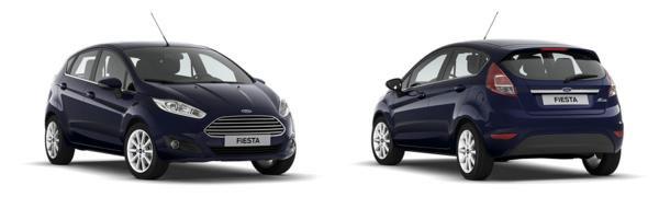 Modelo Ford Fiesta 5p Titanium