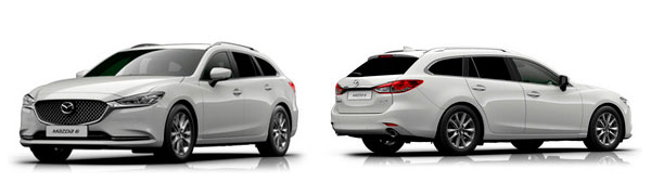 Modelo Mazda Mazda6 Wagon EVOLUTION