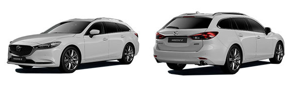 Modelo Mazda Mazda6 Wagon ZENITH WHITE