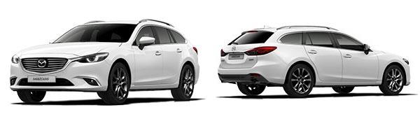 Modelo Mazda Mazda6 Wagon Luxury