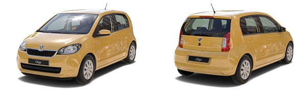 Model Skoda Citigo 5p Active