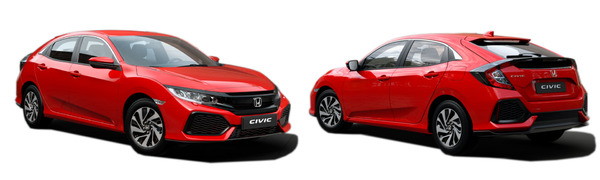 Model Honda Civic Comfort