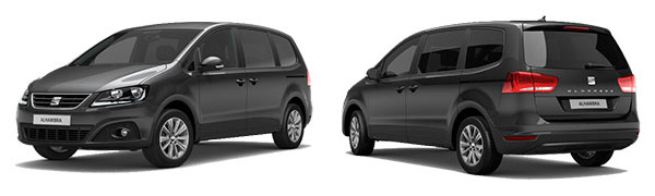 Modelo Seat Alhambra Reference Travel