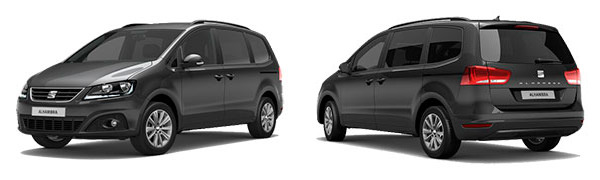 Modelo Seat Alhambra Style Travel