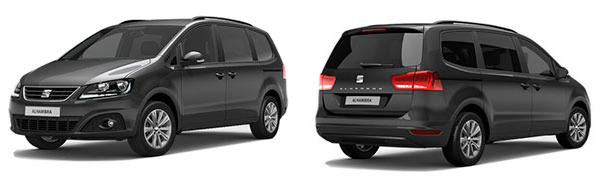Modelo Seat Alhambra Reference Travel Edition