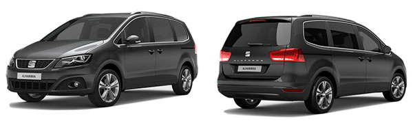 Modelo Seat Alhambra Xcellence Travel Edition