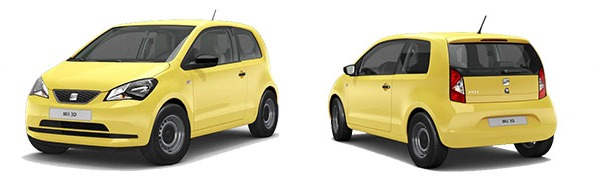 Modelo Seat Mii Reference