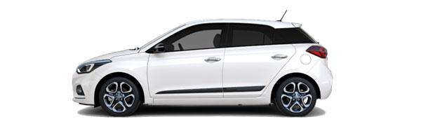 Model Hyundai i20 Style