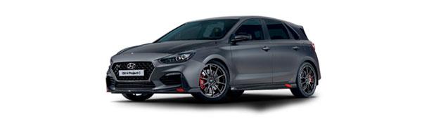 Modelo Hyundai i30 5 puertas N Project C
