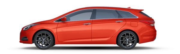 Modelo Hyundai i40 CW Tecno