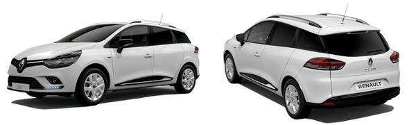 Modelo Renault Clio Sport Tourer Limited