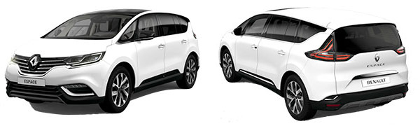 Modelo Renault Espace ICON