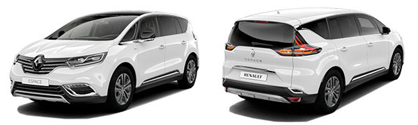 Modelo Renault Espace Limited